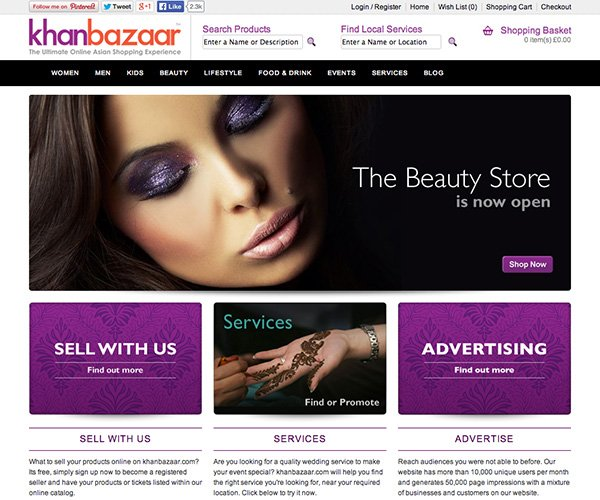 Khanbazzar required a bespoke developed shopping system with advanced reporting features, payment gateways, a retailer portal and much much more.