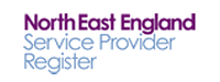 north east england service provider register