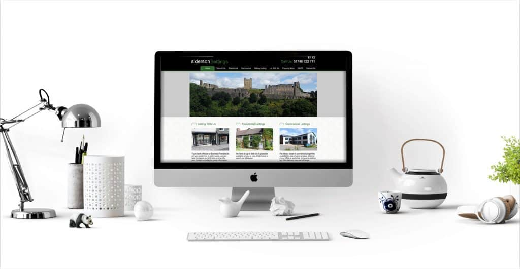 Alderson Lettings Estate Agency Website