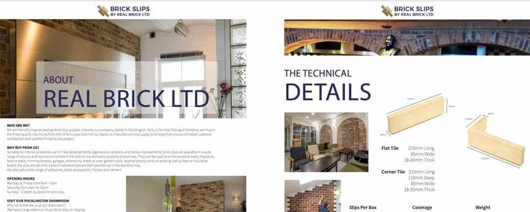 Brick Slips Brochure