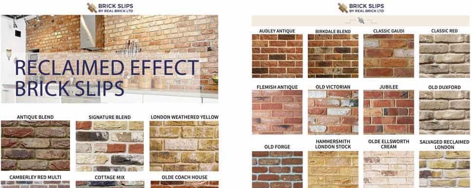 Brick Slips Brochure Past Installations