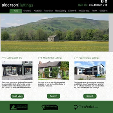 Alderson Lettings Feature Image
