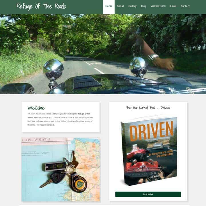 Refuge Of The Roads Website